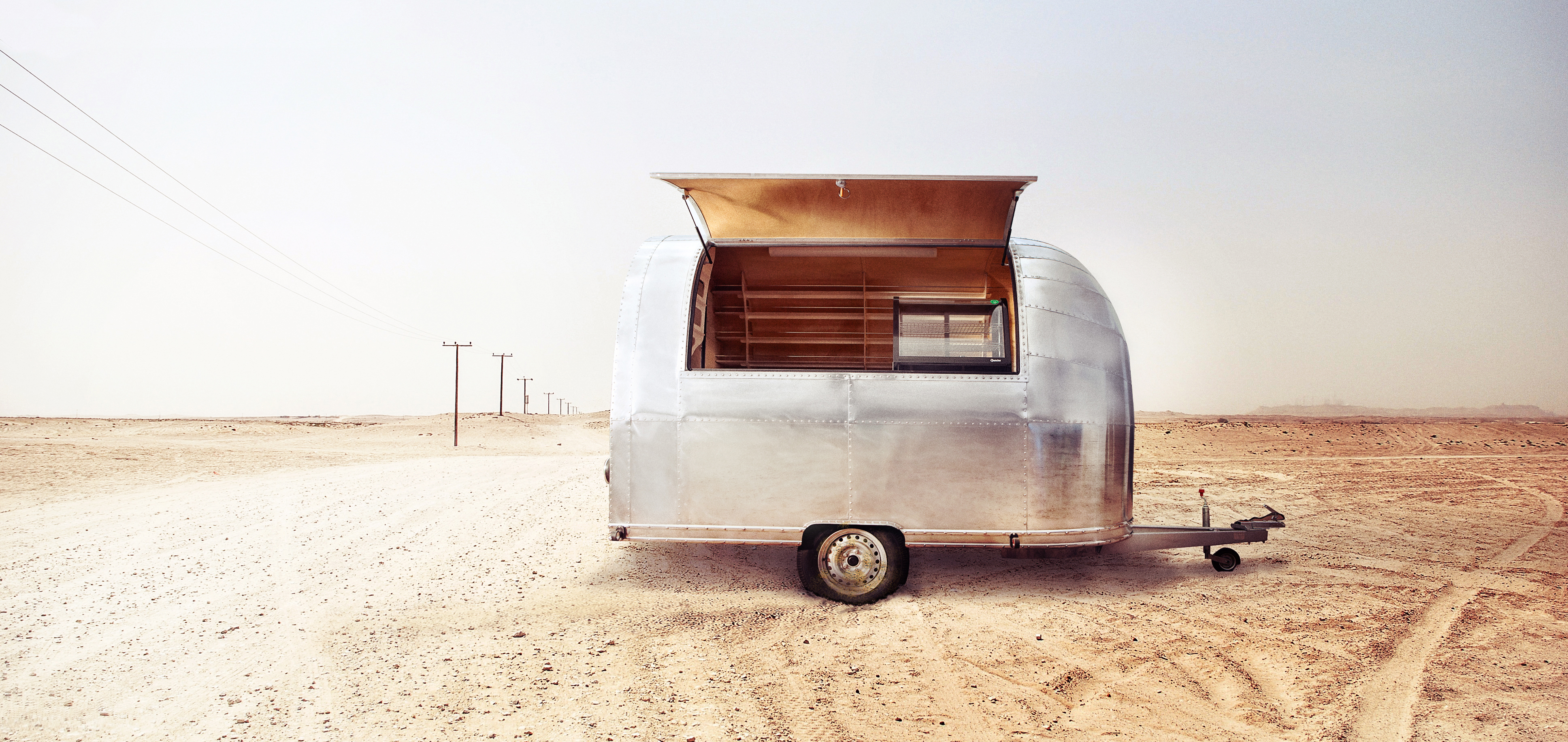 vintage trailers SILVER MB